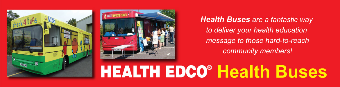 HEUK Health Bus Banner