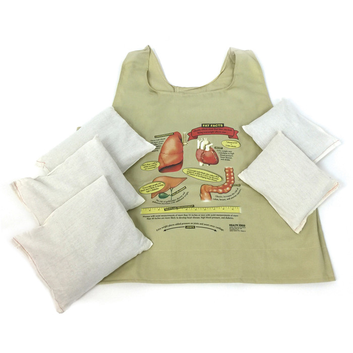 fat vest adult size with weights