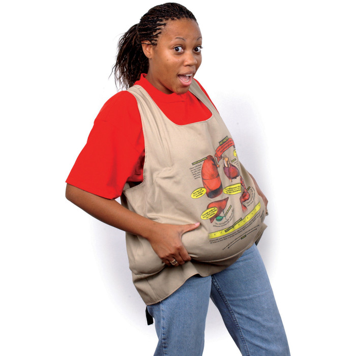 fat vest worn by adult model