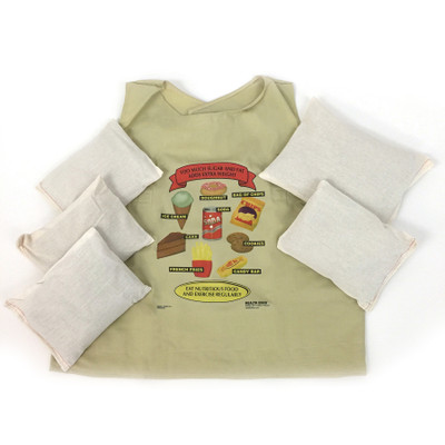 fat vest child size with weights