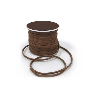 Rawhide spool, 25 yards dark brown rawhide on plastic spool, Health Edco, 30184