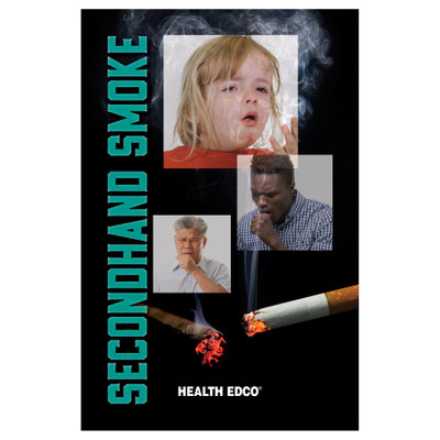 Secondhand Smoke Booklet, tobacco education booklet and teaching resource, Health Edco health education materials, 40478
