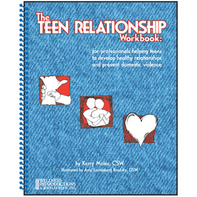 Teen Relationship Handbook for professionals prevent domestic abuse, Health Edco, 50178