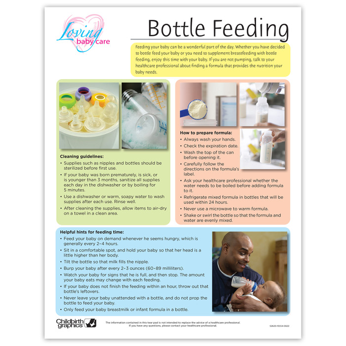 Loving Baby Care Bottle Feeding
