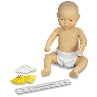 Enhanced/Drug-Affected Ready or Not Tot Asian female control keys & program teacher correction template, Health Edco, 53608