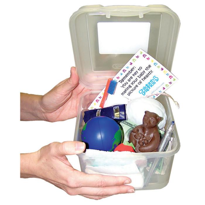Breastfeeding Benefits Box educational resource from Childbirth Graphics for teaching breastfeeding benefits, 79769