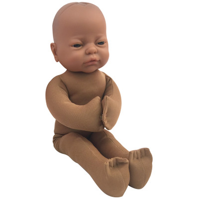 Foetal Model with Brown skin tone, childbirth education materials, labour and birth teaching tools, Childbirth Graphics, 79815