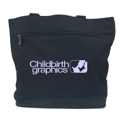 Childbirth Graphics Tote Bag from Childbirth Graphics to carry childbirth education teaching materials and models, 92866