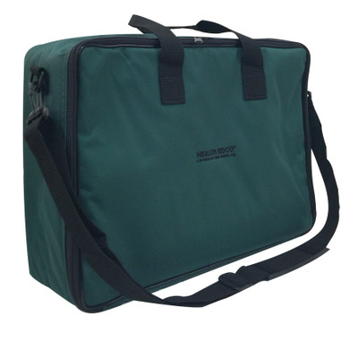 Green Nylon Case with Shoulder Strap to carry health education displays, health education materials, Health Edco, 96522